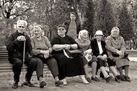Одинокие пенсионеры