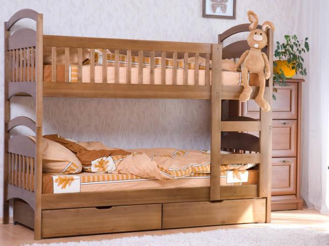 Детские двухъярусные кровати из дсп - ДСП продажа