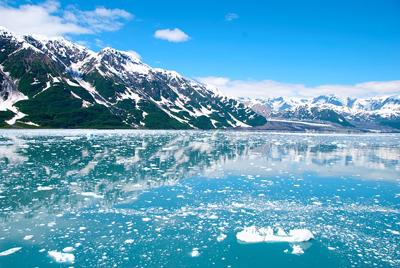 На Аляске тают ледники